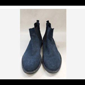 Giancarlo Nori, Dark Blue Men's Boots,